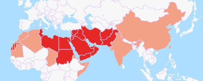 países donde se habla el árabe