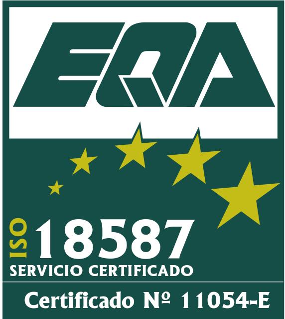 Certificado ISO 18587